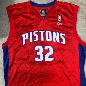 Authentic Pistons Jersey (Reebok NBA Mens)